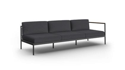 Greenwich Left Right Arm Sectional 3 Seat Sofa