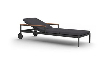 Chester Arm Wheels Pool Chaise
