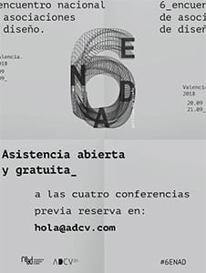 Conferencias internacionales #6ENAD