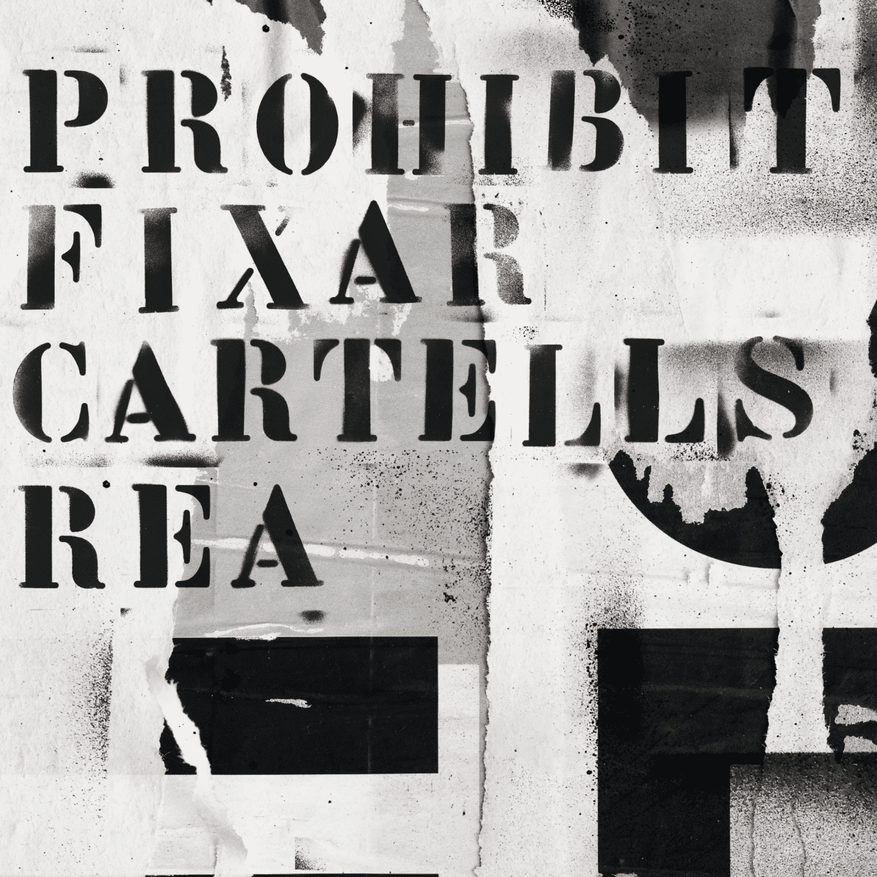 """Prohibit fixar cartells. REA"""